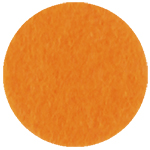 Фетр листовой жесткий IDEAL 1мм 20х30см оранжевый