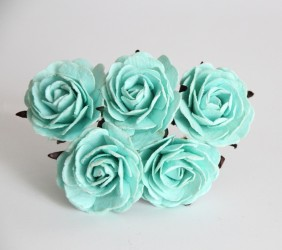 Макси-розы мятные 4 см, 1 шт.