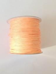 Шнур вощеный Персиковый, 1 метр