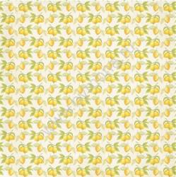 """Бумага односторонняя """"Лимоны"""", коллекция """"Вкусно"""", 30.5х30.5 см, 190 гр."""