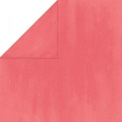 Бумага текстурированная Брусничная