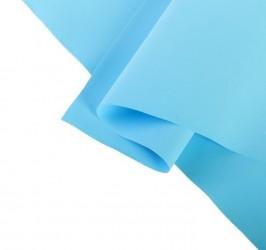 Фоамиран иранский 0,8-1 мм, голубой 30х30