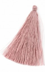 Кисточка Пыльно-розовая 7 см., иск. шелк