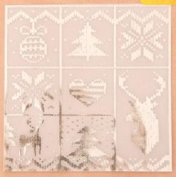 Калька декоративная c фольгированием «Тепло и Уют», 20 × 20 см