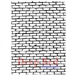 Резиновый штамп «Brick Wall Background»