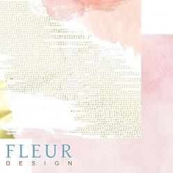 """Лист бумаги для скрапбукинга """"Ты и я"""", коллекция """"Pretty pink"""", 30,5х30,5 см"""