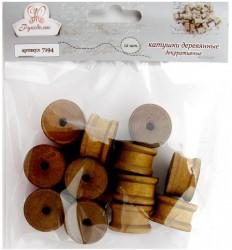 Катушки деревянные декоративные-2