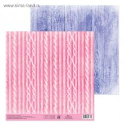Бумага для скрапбукинга Winter dreams, 20 × 21,5 см 180 г/м