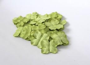 Лепестки гортензий 5 см зеленые, 10 шт.