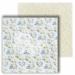 """Лист двусторонней бумаги """"Письма"""" из коллекции """"В этот день"""", 30,5х30,5 см, пл. 250 г/м"""