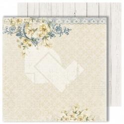 "Лист двусторонней бумаги ""Blossom"" из коллекции ""Dreams come true"", 30,5х30,5 см, пл. 250 г/м"