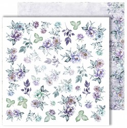 """Лист для вырезания """"Flowers"""" из коллекции """"Flowers Symphony"""", 30,5х30,5 см, пл. 250 г/м"""