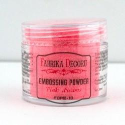 Пудра для эмбоссинга, Розовые мечты, 20 мл.