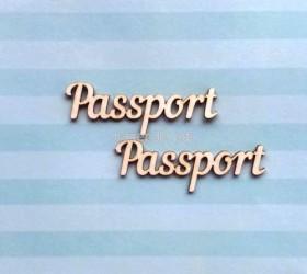 """Чипборд """"Паспорт 4"""""""