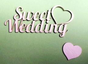 """Чипборд """"Sweet Wedding"""""""