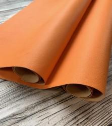 Кожзам переплетный Оранж 56х40 см. 0.8мм