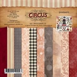 "Набор двусторонней бумаги ""Circus"" 20*20см, 190гр"