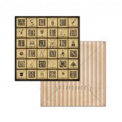 """Лист двусторонней бумаги """"Illusion cards"""" 250гр,30,5х30,5"""