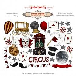 """Набор высечек """"Circus"""",  330 гр,"""