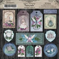 """Набор чипборда """"Fairy tale"""", 20х20"""