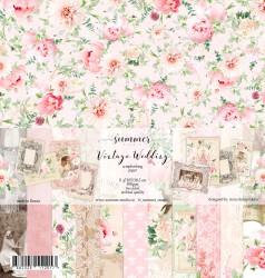 "Набор двусторонней бумаги ""Vintage wedding"", 11 листов, 30,5х30,5см, 190гр"
