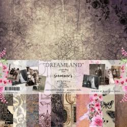 "Набор двусторонней бумаги ""Dreamland"" 11л, 250гр, 30,5х30,5"