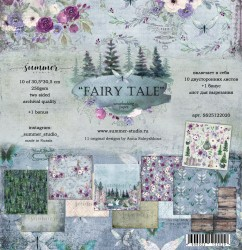 "Набор двусторонней бумаги ""Fairy tale"" 250гр, 30,5х30,5  НОВИНКА"