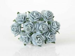Розы 1 см Сероголубые, 1 шт