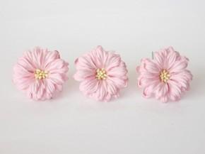 Герберы большие 5-6 см светло-розовые, 1 шт