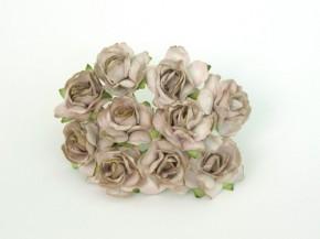 Кудрявые розы 3 см Бежевые № 2 , 1 шт