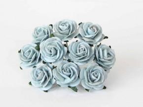 Розы 2 см Сероголубые, 1 шт