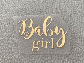 Baby girl Золото