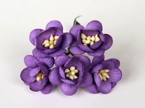 Цветок вишни Сиреневый, 1 шт