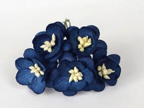 Цветок вишни Темно-синий, 1 шт