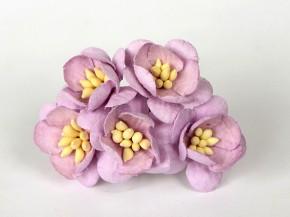 Цветок вишни Светло-сиреневый, 1 шт