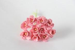 Цветок вишни Розово-персиковый средний, 1 шт