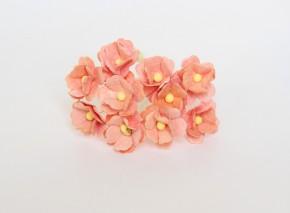 Цветок вишни Персиковый средний, 1 шт