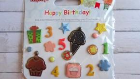 Набор декоративных брадсов С днем рождения