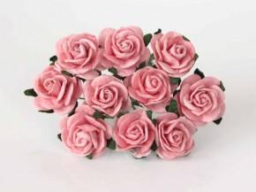 Розы 2 см розовоперсиковые, 1 шт.